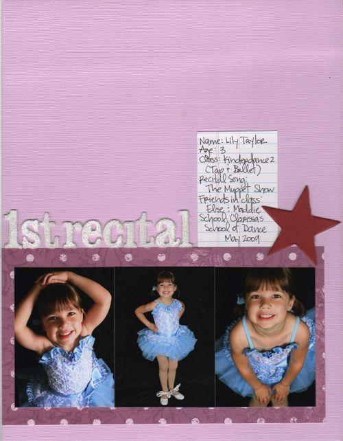1st Recital